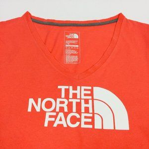 The North Face Womens V Neck S/S T Shirt Size Larg